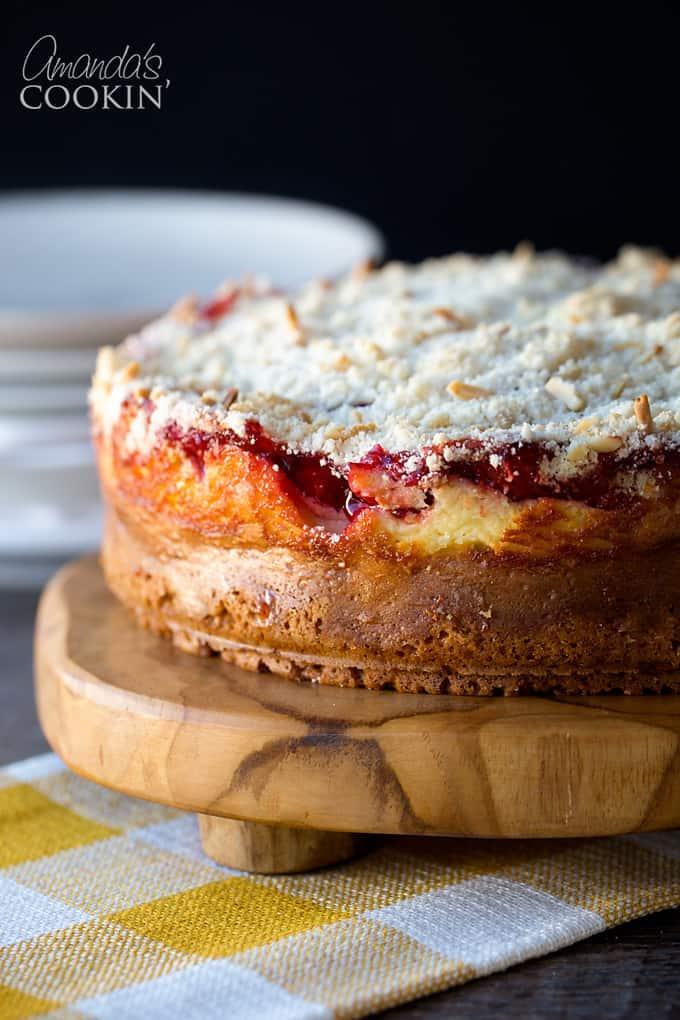 Go ahead, enjoy a slice of that cherry cream cheese coffee cake!