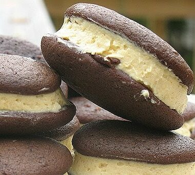 A close up Whoopie Pie