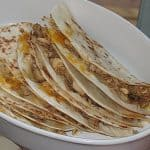 Chicken or Beef Fajita Quesadillas