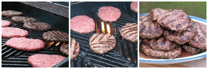 Be sure to grill the patties first to get those awesome salisbury steak grill marks