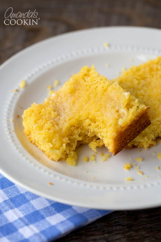 Out of love for all things bread grew this delicious sweet cornbread recipe!
