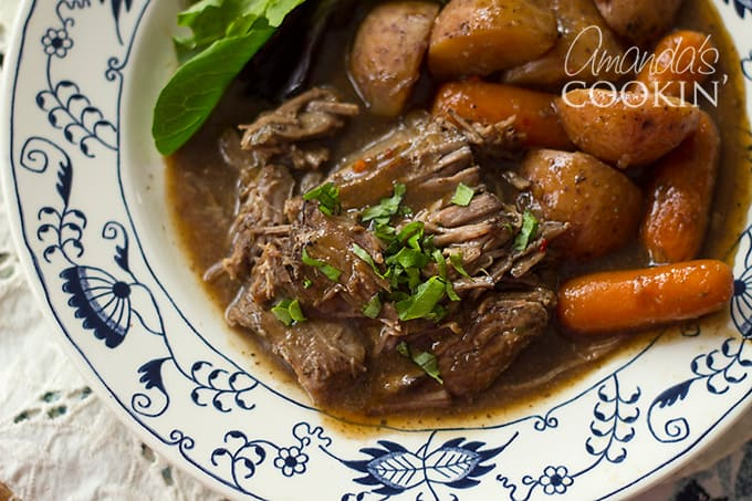 To Die for Pot Roast: the best crockpot roast you'll ever eat