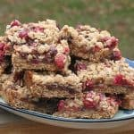 Cranberry Caramel Bars