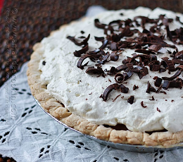 Baker's Square French Silk Pie - homemade recipe
