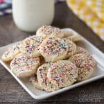 These sugar cookies are a huge hit, they're soft and chewy and every last bit of delicious!