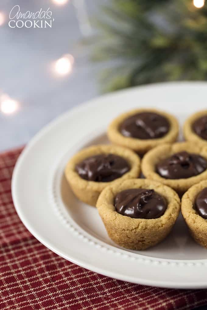 Fudge Puddles are these perfect little peanut butter cookie cups ...