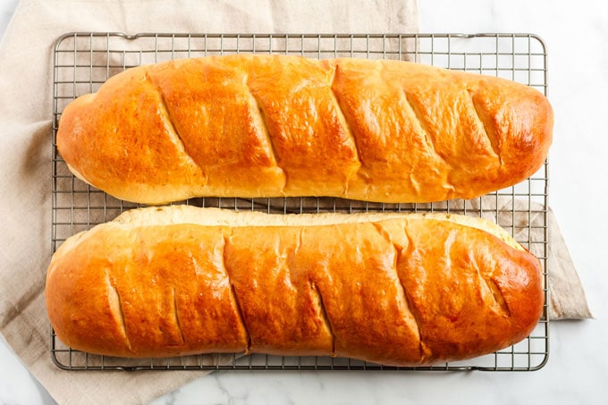 baked dough loaves
