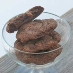 Chocolate Fudge Cookies with Toffee & Cherry Craisins
