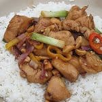 Cashew Chicken & Peppers