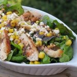 Grilled Chicken Salad with Herbed Tomato Vinaigrette