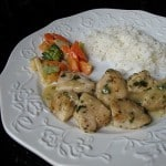 Chicken with Garlic & Parsley: (quick dinner)