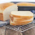 sliced white bread