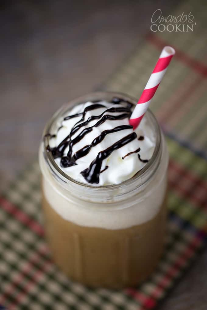 Homemade Mocha Frappuccino: a Starbucks inspired drink