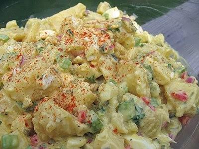 Shout Hallelujah Potato Salad , Amanda Formaro, Amanda's Cookin'