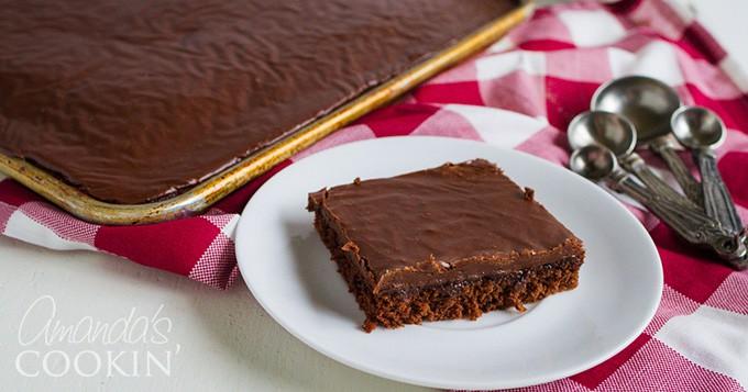 How to make Chocolate Texas Sheet Cake