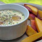 Eggs Baked in Ramekins wit Herbs: Oeufs en Cocotte aux Fines Herbes