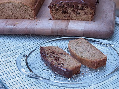 morning glory zucchini bread (sliced) - AmandasCookin.com