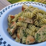 Rotini with Creamy Three Herb Pesto & Chicken