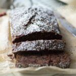 sliced chocolate zucchini bread