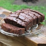 chocolate zucchini bread on AmandasCookin.com