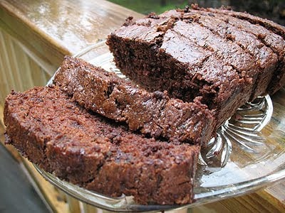 Delicious Chocolate Zucchini Bread on AmandasCookin.com