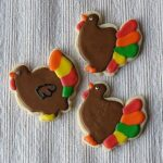 Thanksgiving Cookies: Turkeys, Leaves and Pumpkins, Oh My!
