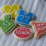 Football Jersey Cookies, Royal Icing & Division Champs