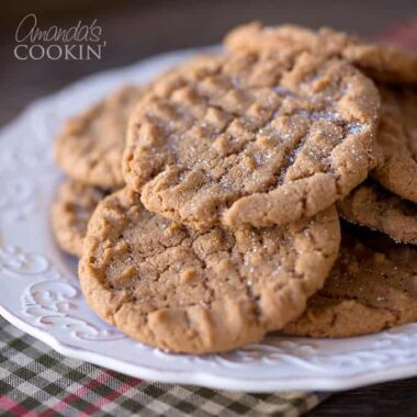Delicious Nutella Peanut Butter Cookies