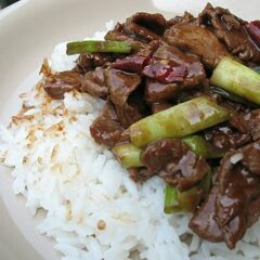 Stir Fried Spicy Beef