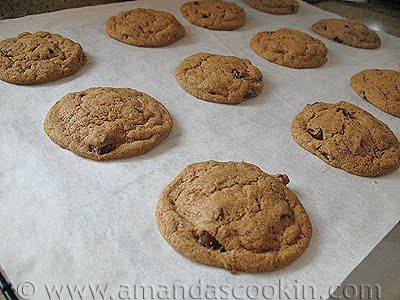 Chocolate Chip Espresso Cookies