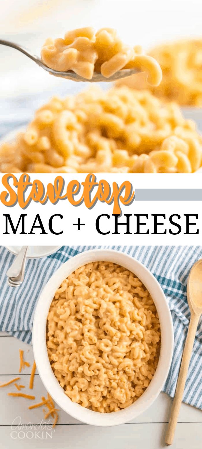 Stovetop Mac and Cheese
