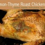 Lemon-Thyme Roast Chicken with Jus