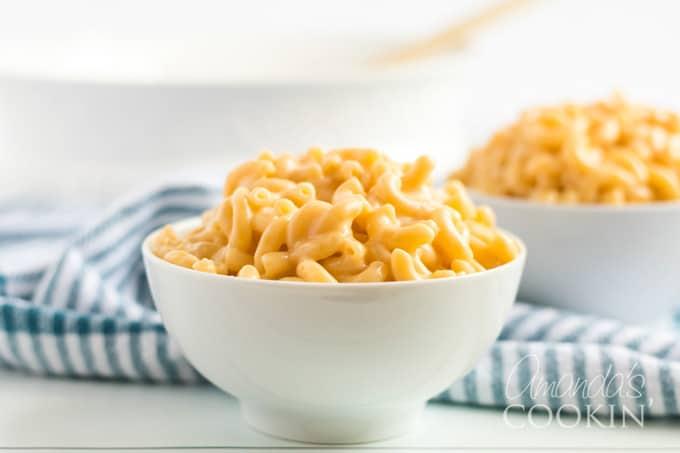 bowl of stovetop mac and cheese