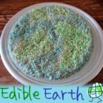 Edible Earth: Rice Krispy Treats for Earth Day