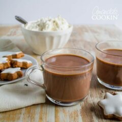 cup of mexican hot chocolate