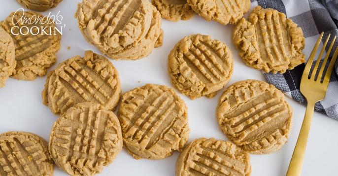 Peanut Butter Cookies Soft Homemade Peanut Butter Cookies