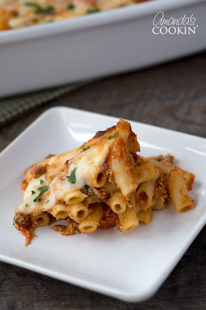My kids have always been huge pasta fans, and baked ziti is definitely their favorite meal for dinner.