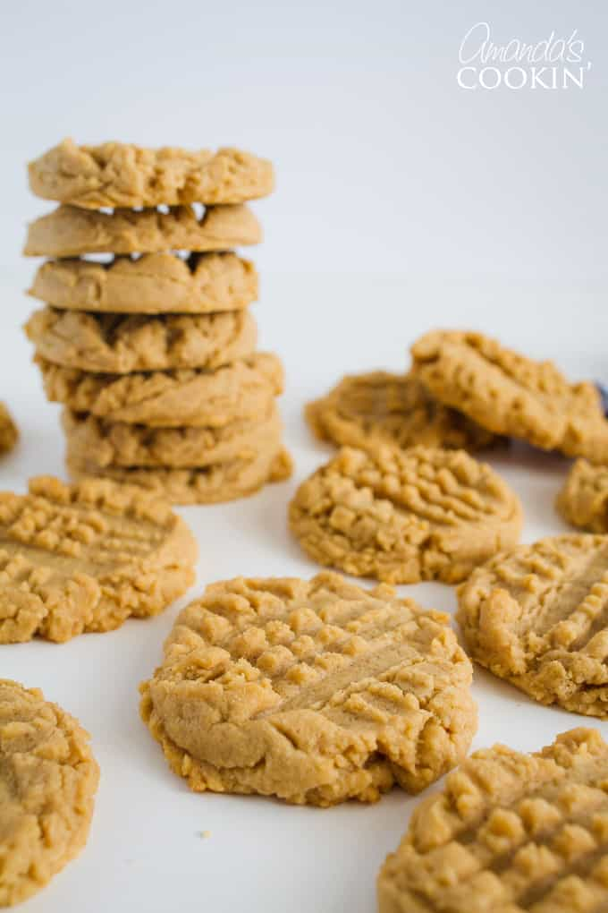 "There's a foolproof way to bake soft and chewy peanut butter cookies. That is to underbake them slightly. That's it. Baking a batch of peanut butter cookies until they ""look"" done is deceiving and creates a crunchy result."