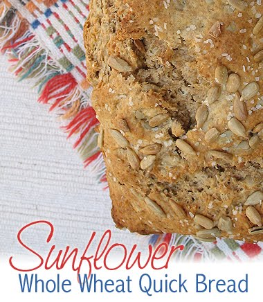 sunflower quick bread