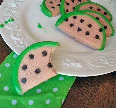 watermelon cookies