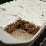Banana Cake with Vanilla Cream Cheese Frosting