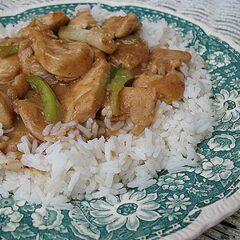 Chicken Scallion Stir Fry
