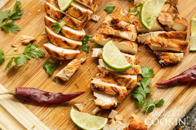 Cut up chile lime chicken