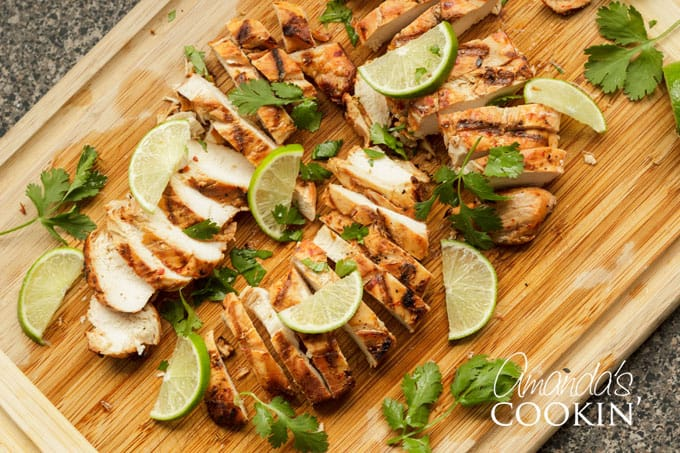 Make Chile Lime Chicken outside on your barbecue grill