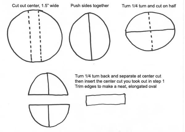spiderman-diagram for cutting cake