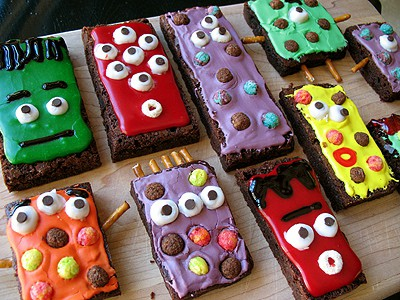 monster brownie treats