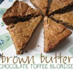 Brown Butter Chocolate Toffee Blondies