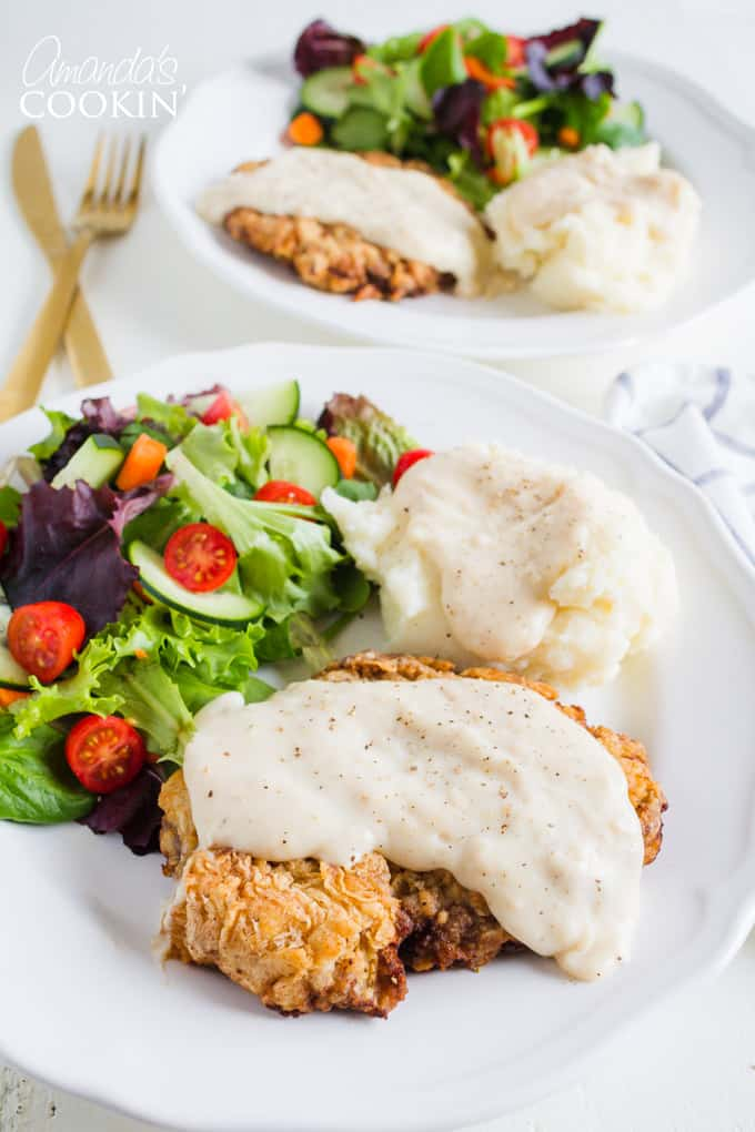 Chicken Fried Steak: comfort food