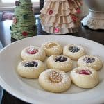 Thumbprint Cookies – easiest recipe ever