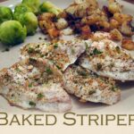 Baked Striper (Striped Bass)